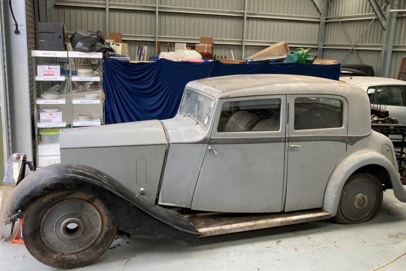 1935 Rolls-Royce 20/25 Saloon by Hooper Restoration Project